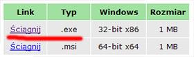 Pobierz 7zip dla Windows
