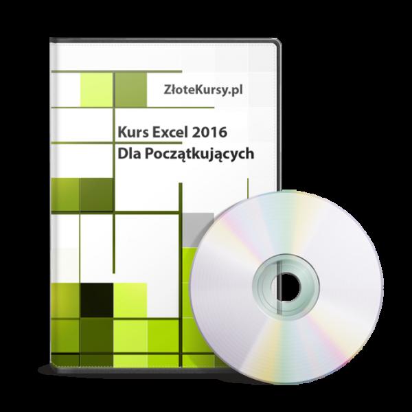 Kurs Excel 2016 Dla Poczatkujących
