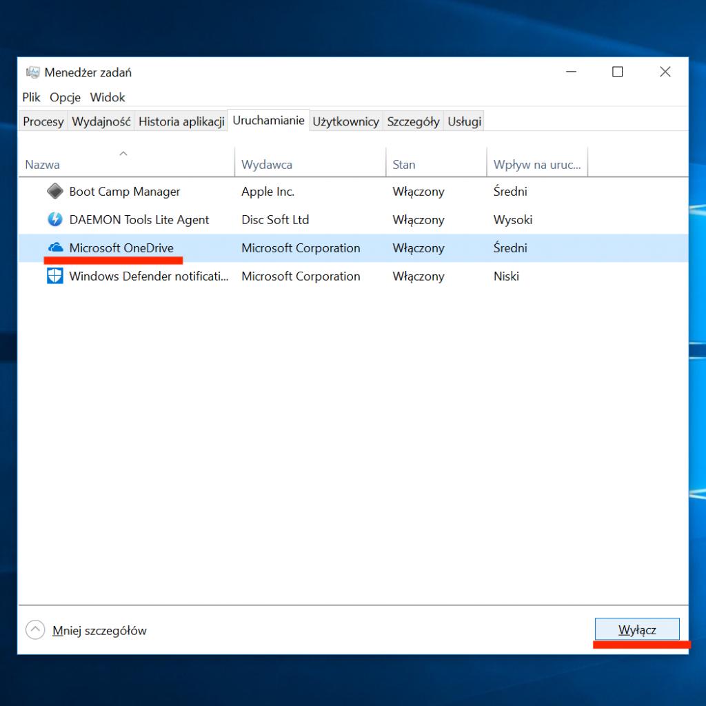 Wyłącz automatyczne uruchamianie aplikacji na starcie systemu Windows 10